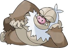 Slaking (Japanese: ケッキング Kekking) is a Normal-type Pokémon.It evolves from Vigoroth starting at level 36. It is the final form of Slakoth. http://bulbapedia.bulbagarden.net/wiki/Slaking_%28Pok%C3%A9mon%29