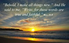 bible verse for new year