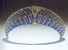 Faberge Tiara for Lady Constance Cornowallis West (1876-1960).