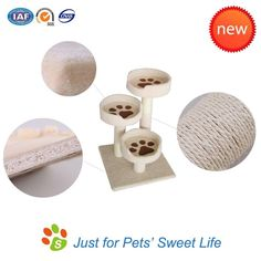 Simple cat tree, beige color and new design, just for cats' sweet life. #cattree #cattoy #catfurniture