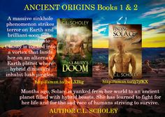 Clarity's Doom: (Ancient Origins Book 1) http://amzn.to/2AWJjMM  Finding Solace: (Ancient Origins Book 2) - by C. L. Scholey. #Scifi, #Romance, #Otherworlds, #BookBooster, #Mustread, #Series, #C.L.Scholey, #TS4U