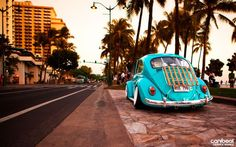 VW Beetle #Pacific Coast Highway #surf love # blue  ♠... X Bros Apparel Vintage Motor T-shirts, Volkswagen Beetle & Bus T-shirts, Great price… ♠