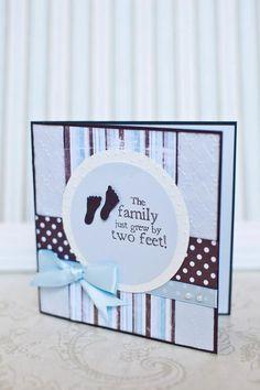 New Baby Boy Handmade Greeting Card by BeautyfromAshesBtq on Etsy, $5.00