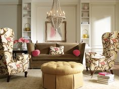 Barbara Schaver @ Furnitureland South. We love this look for fall!