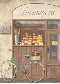 """""""Cheese Shop Errand"""" by Marco Fabiano"""