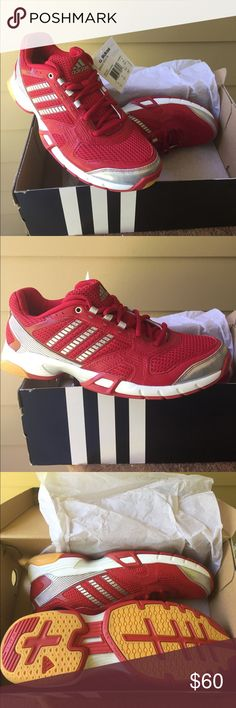 best service a5aee 19b69 NWT Adidas Performance Athletic Sneakers Brand New in Box Adidas Volleyball  sneakers. Never been worn