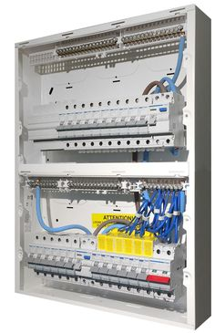 Hager Design 30 Consumer Unit, 10 Way RCBO Board. | Consumer Units on electrical plug wiring, three prong plug wiring, garage lighting circuit wiring,