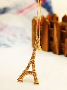 pagoda necklace #Eiffel #necklace