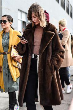 Street Style Trend: Pellicce