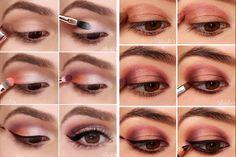 Dicas de maquiagem para olhos castanhos!