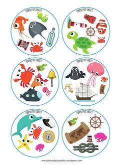 Dobble summer By the sea Fish Activities, Montessori Activities, Preschool Math, Toddler Activities, Kindergarten, Art Games For Kids, Double Game, Alphabet Letter Crafts, English Activities