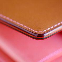 "ns7788: "" Edge work from Niwa leathers, just amazing. #niwaleather #leathercraft #sgmakers "" More"