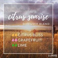Diffuse this blend in the morning for a cheerful start to your day. #aromatherapy #wakeup #getready #diffuserblend #cheery #cheerful #citrus #the365life