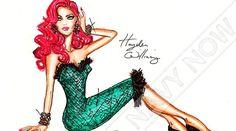 Fashion illustrator Hayden Williams recreates style icons like Michelle Obama, Rihanna & Kim Kardashian