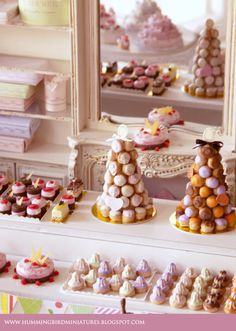 Hummingbird Miniatures: The Forgotten Patisserie