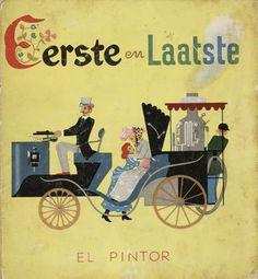 livre Hollandais dutch book vintage book illustration