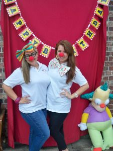 """A Big Top Birthday: Circus theme birthday party. Click to visit Two Belles Event Planning blog for more circus theme party ideas! """"Faux-To"""" Booth (photo booth) DIY photo booth. 100_4442"""