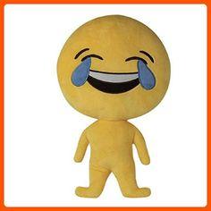 "Ikevan Newest Creative Emoji Emoticon Cushion Heart Eyes Soft Plush Pillow Doll Toy Gift Humanoid Toys 13.8"" (03) - Fun stuff and gift ideas (*Amazon Partner-Link)"