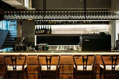 Eight new restaurants to try now: Nel, SydneyAt Nelly Robinson's degustation-only Sydney restaurant Nel, his creative, modern Australian dishes are matched with not one but two wines each. See the spectacular food here.75 Wentworth Street, Sydney. Go to nelrestaurant.com.au.