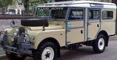 """1957 Land Rover 109"""" Series 1, LHD Maintenance/restoration of old/vintage vehicles: the material for new cogs/casters/gears/pads could be cast polyamide which I (Cast polyamide) can produce. My contact: tatjana.alic14@gmail.com"""