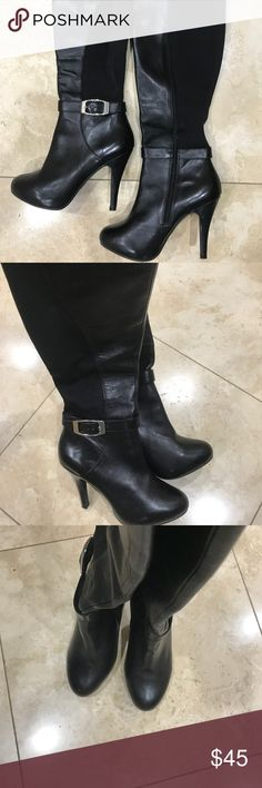 159e0df1ac4c1a Classy Tall Black Boots Size 7.5 Great condition