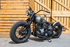 Harley Davidson Panhead 1950 By Bobber FL Motorcycles