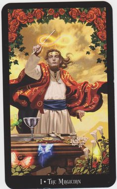 the magician tarot -