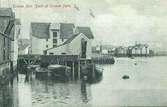 Troms fylke Tromsø havn ca 1900