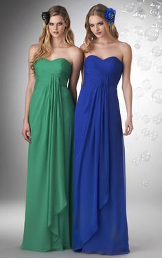 A-line #Zipper #Sweetheart Chiffon Sleeveless #Bridesmaid Dresses