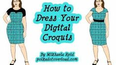 Tutorial: Try on Sewing Patterns With a Digital Dress Form (Croquis), via YouTube.