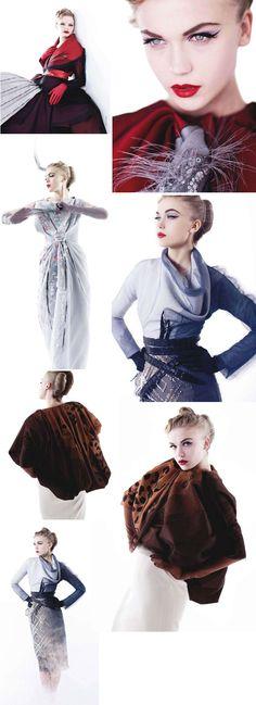 LOVE the Look! <3 Crimson & Grey
