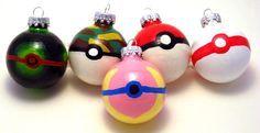 Pokemon Christmas Ornaments III
