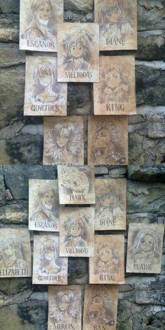 Seven deadly sins Otaku Anime, Manga Anime, Anime Art, Seven Deadly Sins Anime, 7 Deadly Sins, 7 Sins, Seven Deady Sins, Anime Wolf, Image Manga