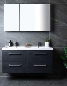 Lind luxury 120 sort baderomsmøbel m/dobbel servant mod. Sorting, Double Vanity, Bathroom, Luxury, Washroom, Full Bath, Bath, Bathrooms, Double Sink Vanity