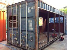 Paso a paso: ¡Mirá lo que hicieron con este contenedor olvidado! (de Rocío E)