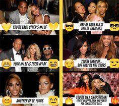 Beyonce helps us identify the new Snapchat Emoji Symbols