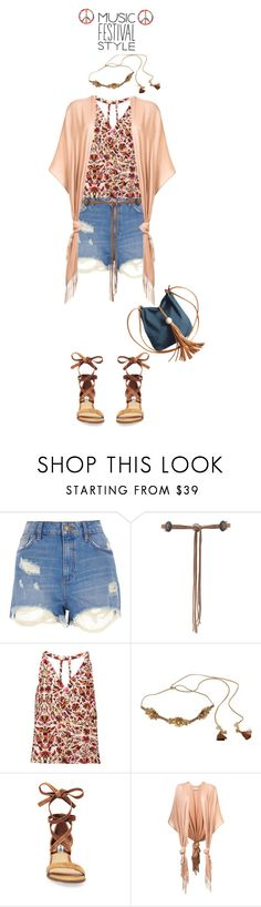 """Show Time: Best Festival Trend'"" by dianefantasy ❤ liked on Polyvore featuring River Island, Lovers + Friends, Haute Hippie, Deepa Gurnani, Steve Madden, Ryan Roche, polyvorecommunity, polyvoreeditorial and festivalfashion"