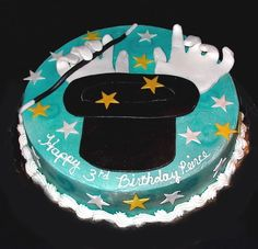 Magic Party Cake.  Neat idea but would do it a bit differently