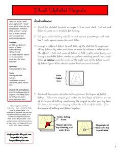 Alphabet Magnets.pdf - GoogleDrive Sewing Hacks, Sewing Tutorials, Sewing Projects, Projects To Try, Sewing Tips, Alphabet Magnets, Alphabet Letters, Kindergarten Learning, Teaching