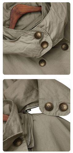 【 Per ulteriori Coats】 Per più mani, si prega di controllare il negozio del mio compagno https://www.etsy.com/shop/JulyS?section_id=7954215&ref=shopsection_leftnav_2PIECE =========== INFORMAZIONI Questo cappotto / giacca / mantello/mantello è uno degli elementi più popolari nel mio negozio. * Materiale: 100% cotone * Rivestimento: completamente foderato in cotone 100% cotone di alta q...
