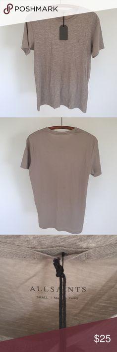 NWT all saints Men's brand-new super soft T-shirt All Saints Shirts Tees - Short Sleeve
