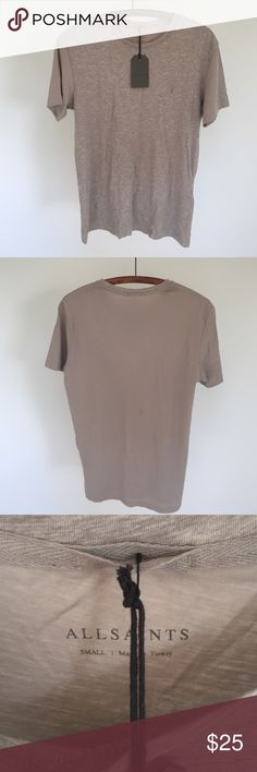 NWT all saints Men's brand-new super soft T-shirt All Saints Shirts Tees - Short Sleeve