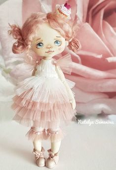 Bjd Dolls, Doll Toys, Softies, Little Princess, Disney Princess, Fabric Dolls, Kids Playing, Doll Clothes, Diy And Crafts