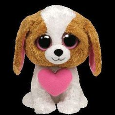 Beanie Boos are They are made from Ty's best selling fabric - Ty Silk, and are created with fantastic custom eyes. Peek-a-Boo they want to come home with you. Beanie Boo Dogs, New Beanie Boos, Beanie Babies, Ty Beanie Boos Collection, Ty Peluche, Small Beanie, Ty Toys, Kids Toys, Cute Beanies