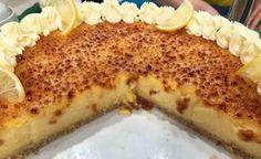 Tarta de limón en masa de almendras