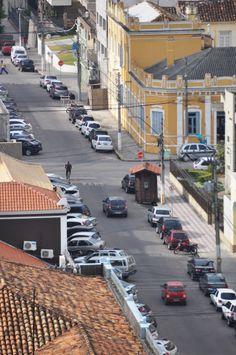 Vista do centro da cidade de Pelotas.