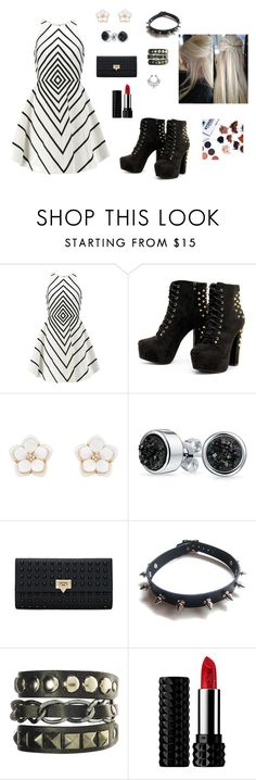 """""""Untitled #14"""" by autumn-geist on Polyvore featuring Halston Heritage, Accessorize, Bling Jewelry, WithChic and Kat Von D"""