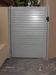 powder coated gate - Google Search Powder Coating, Tall Cabinet Storage, Home Appliances, Pool Gates, Furniture, Landscaping, Outdoors, Google Search, Home Decor