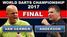 Michael van Gerwen v Gary Anderson ᴴᴰ 2017 World Darts Championship   FINAL