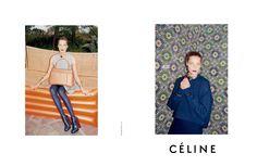 Glossy Newsstand: CÉLINE F/W 13.14 AD CAMPAIGN